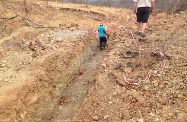 Exploration Trenches at Mutanga (Zambia)